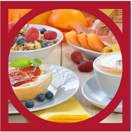 Frühstück bei Magd und Knecht